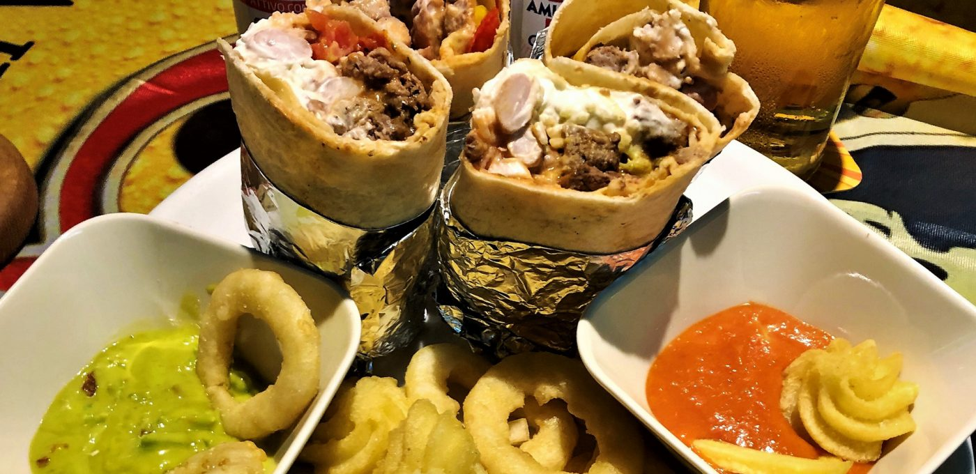 La buca GastHaus - Grande abbuffata: Los Burritos!
