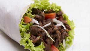La Buca Gasthaus - Burrito Hamburger